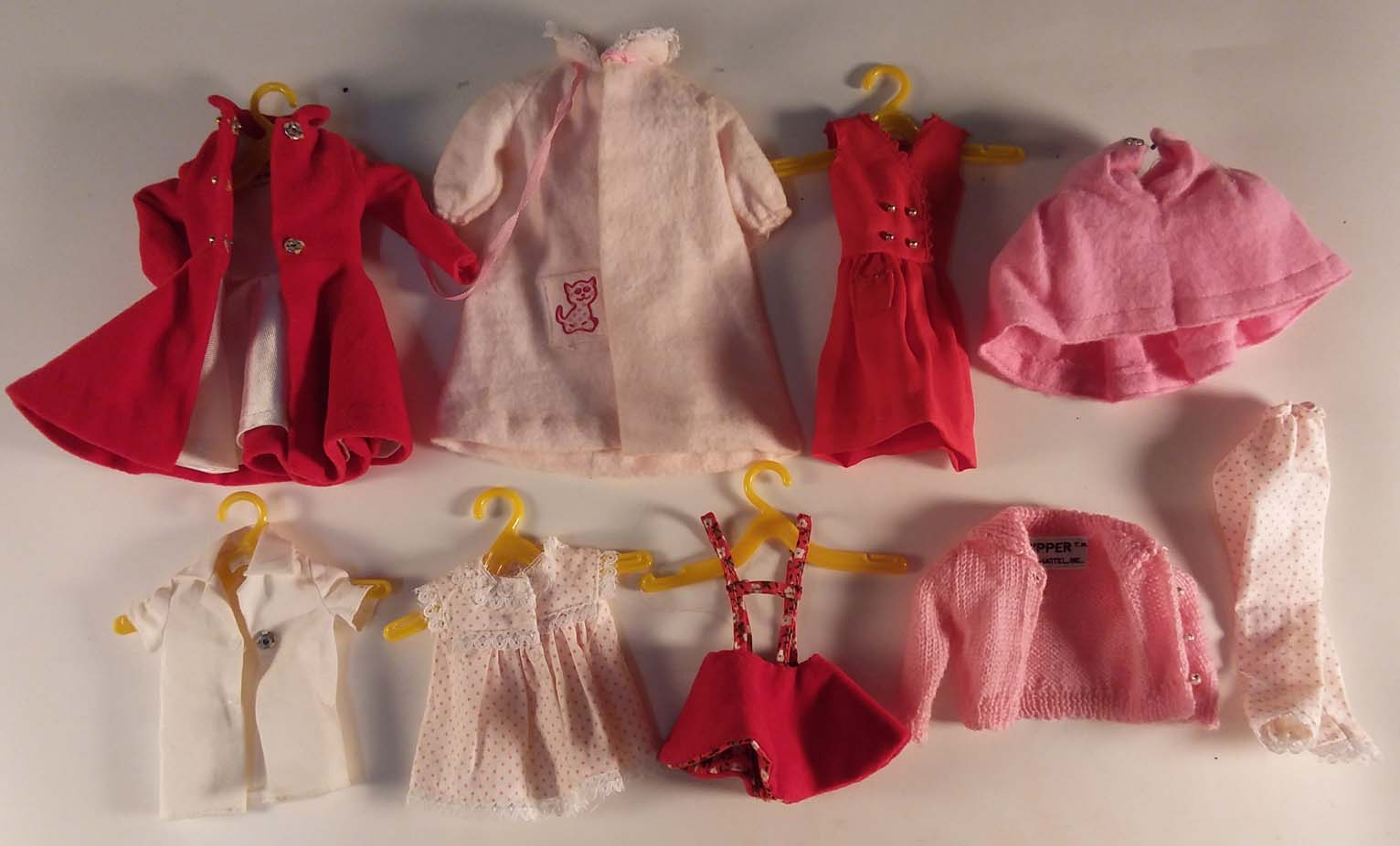 Image for Skipper Barbie's Little Sister doll, case & all these outfits & accessories 1965