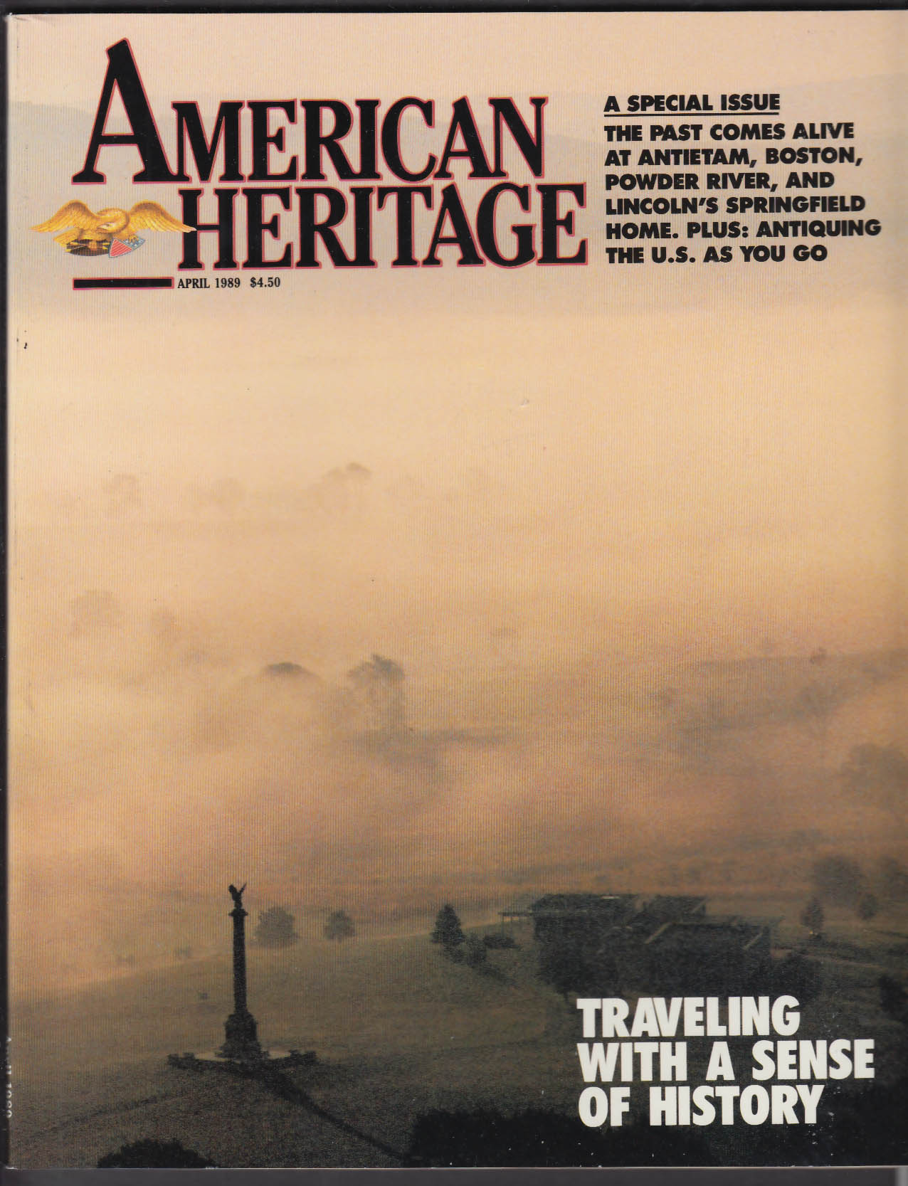 AMERICAN HERITAGE Powder River Boston Antietam Lincoln Springfield ++ 4 1989