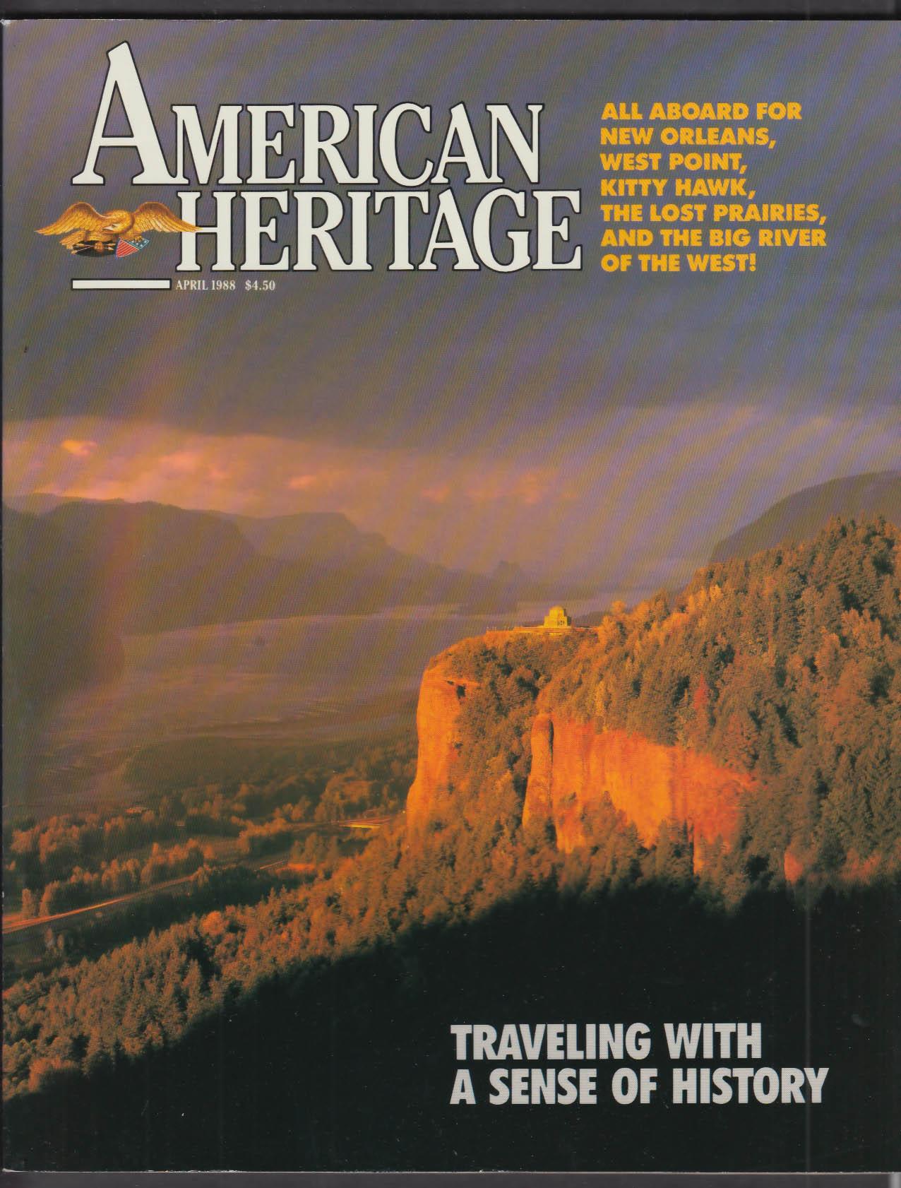 AMERICAN HERITAGE West Point Robert Gray Fur Trader + 4 1988