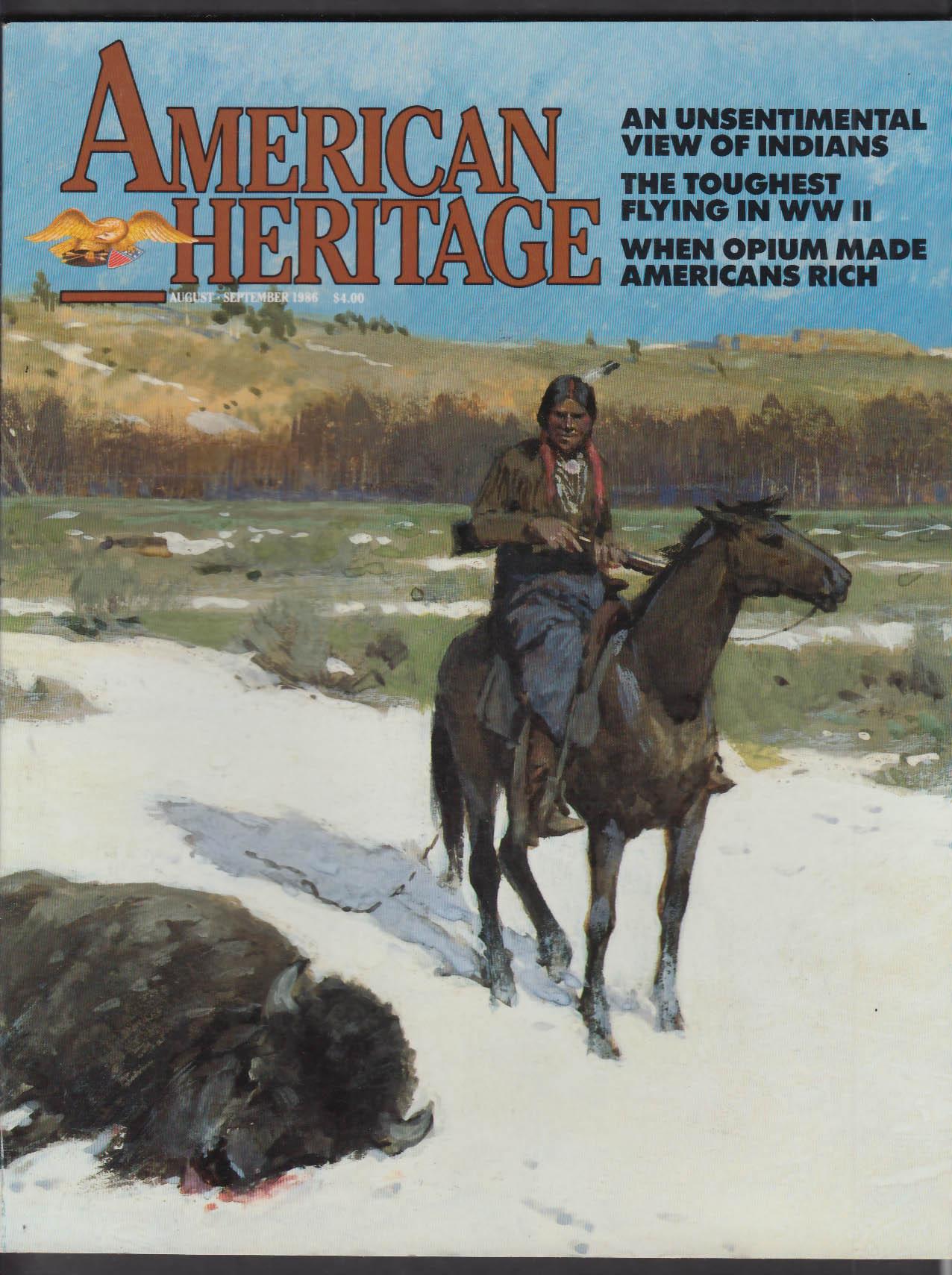 AMERICAN HERITAGE George Hadfield Harvard Depression + 8-9 1986