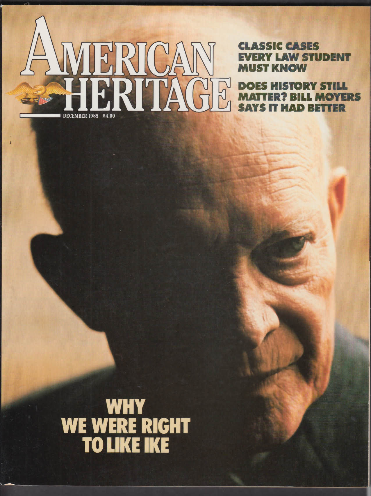 AMERICAN HERITAGE Eisenhower Susan B Anthony Ulysses S Grant + 12 1985