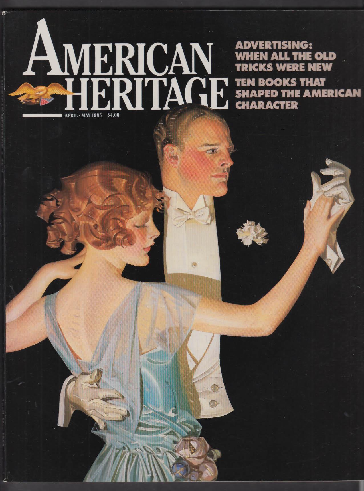 AMERICAN HERITAGE Harvey Weber Signal Corps Pulitzer Hearst Hitler + 4-5 1985