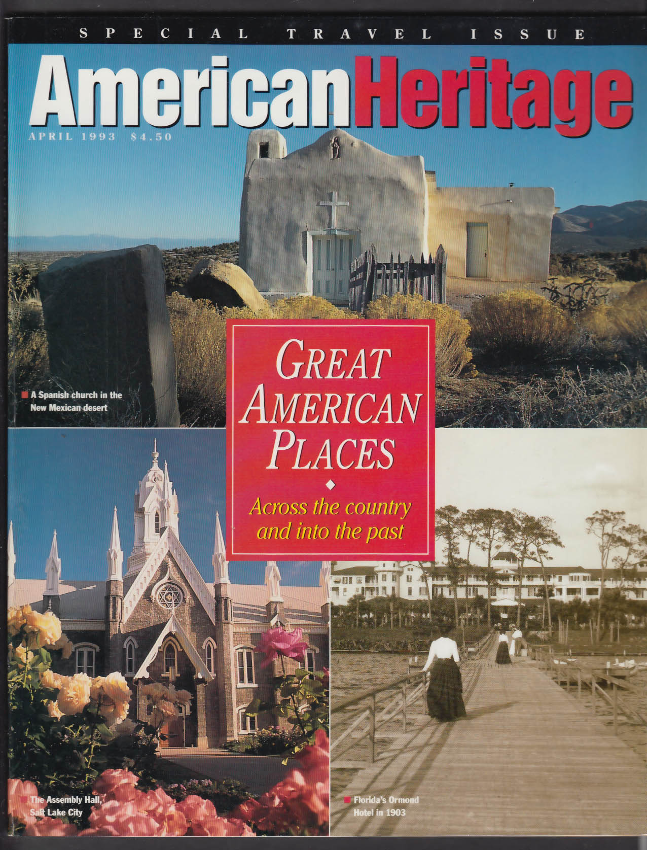 AMERICAN HERITAGE Brigham Young Jefferson Poplar Forest + 4 1993