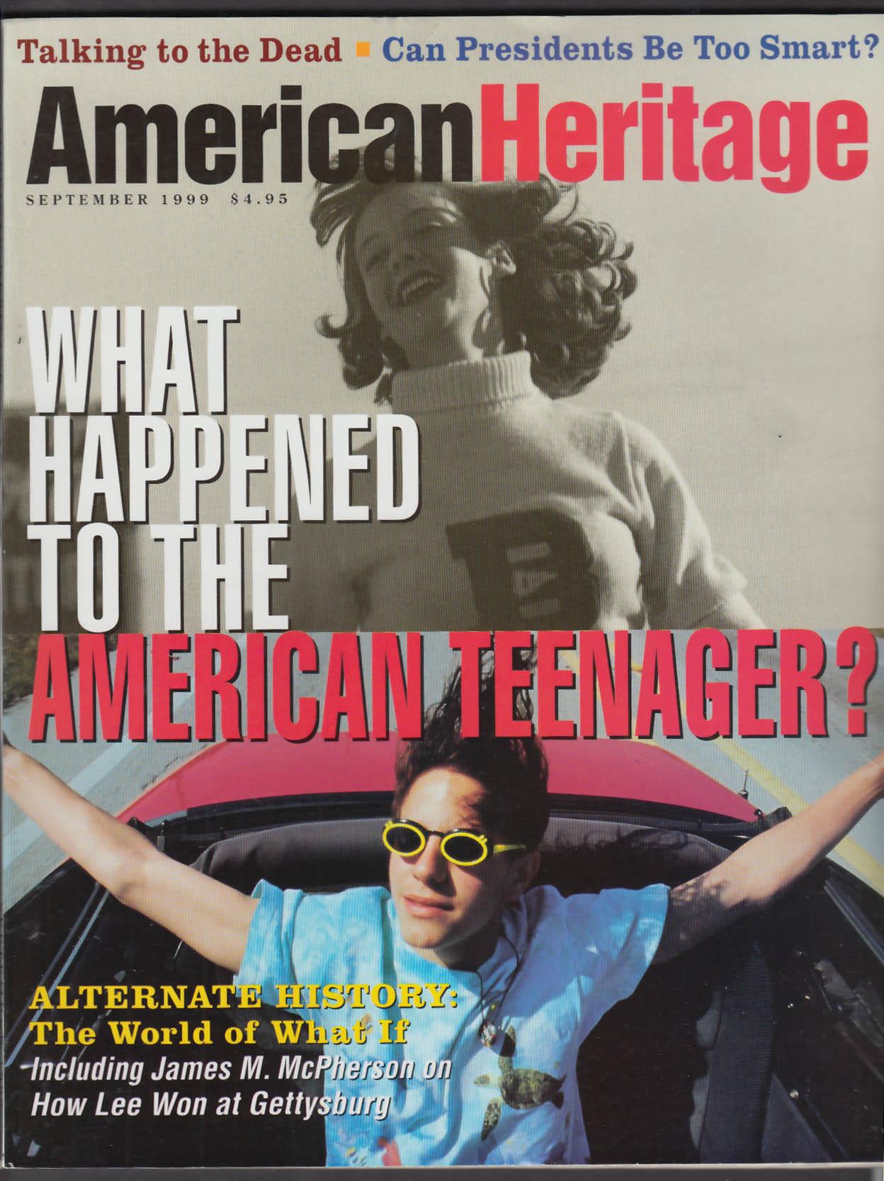 AMERICAN HERITAGE James M McPherson Alternate US History + 9 1999