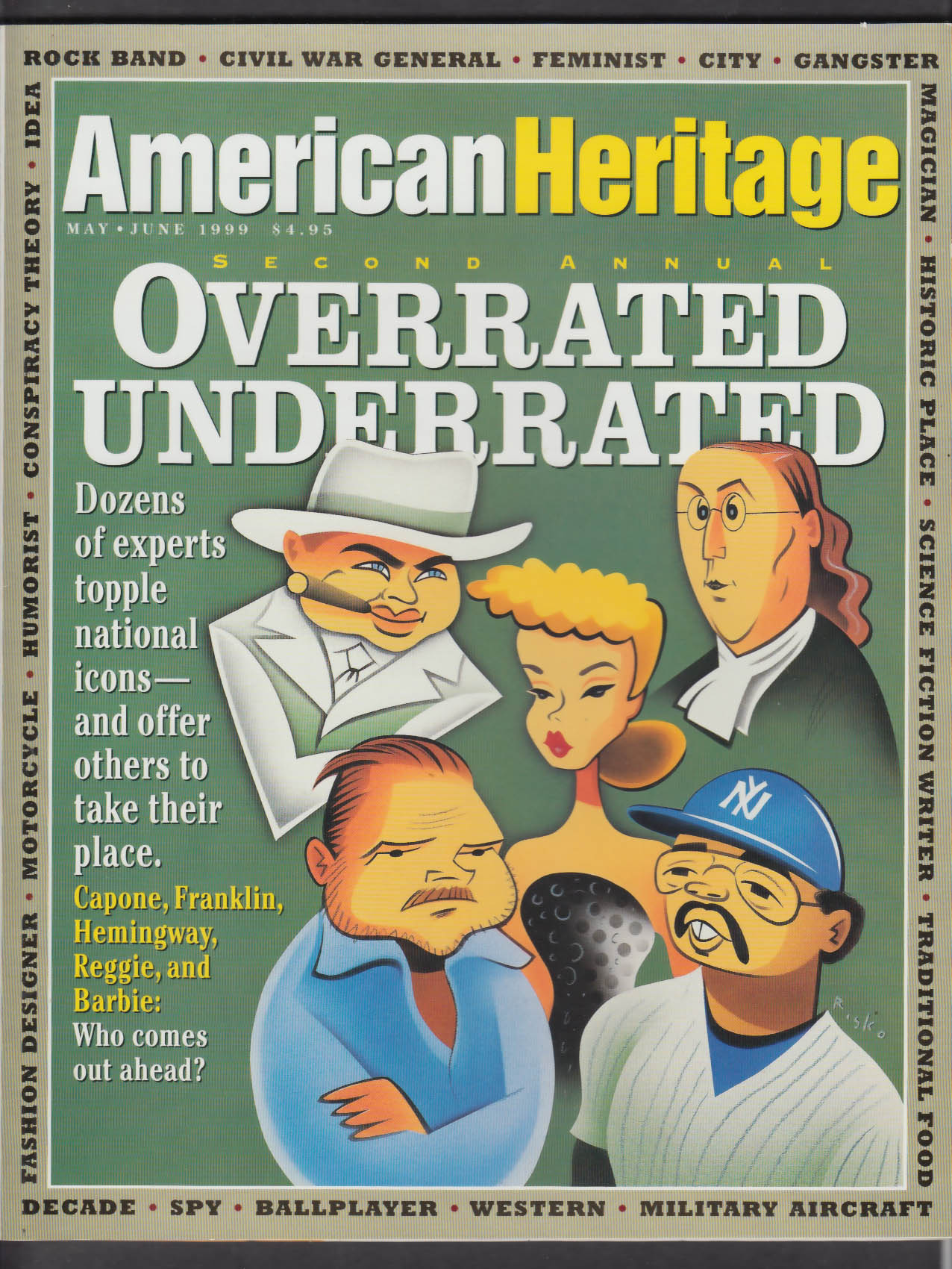 AMERICAN HERITAGE Overrated/Underrated Thomas Berger + 5-6 1999