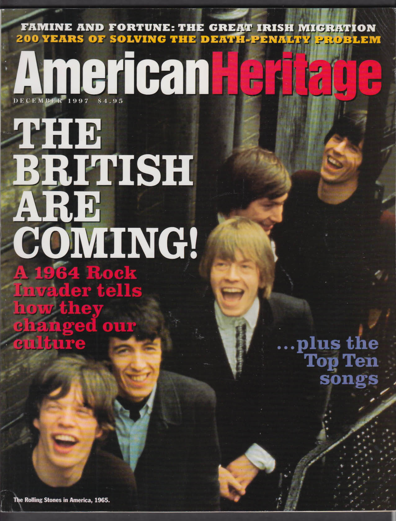 AMERICAN HERITAGE Rolling Stones Ian Whitcomb Death Penalty + 12 1997