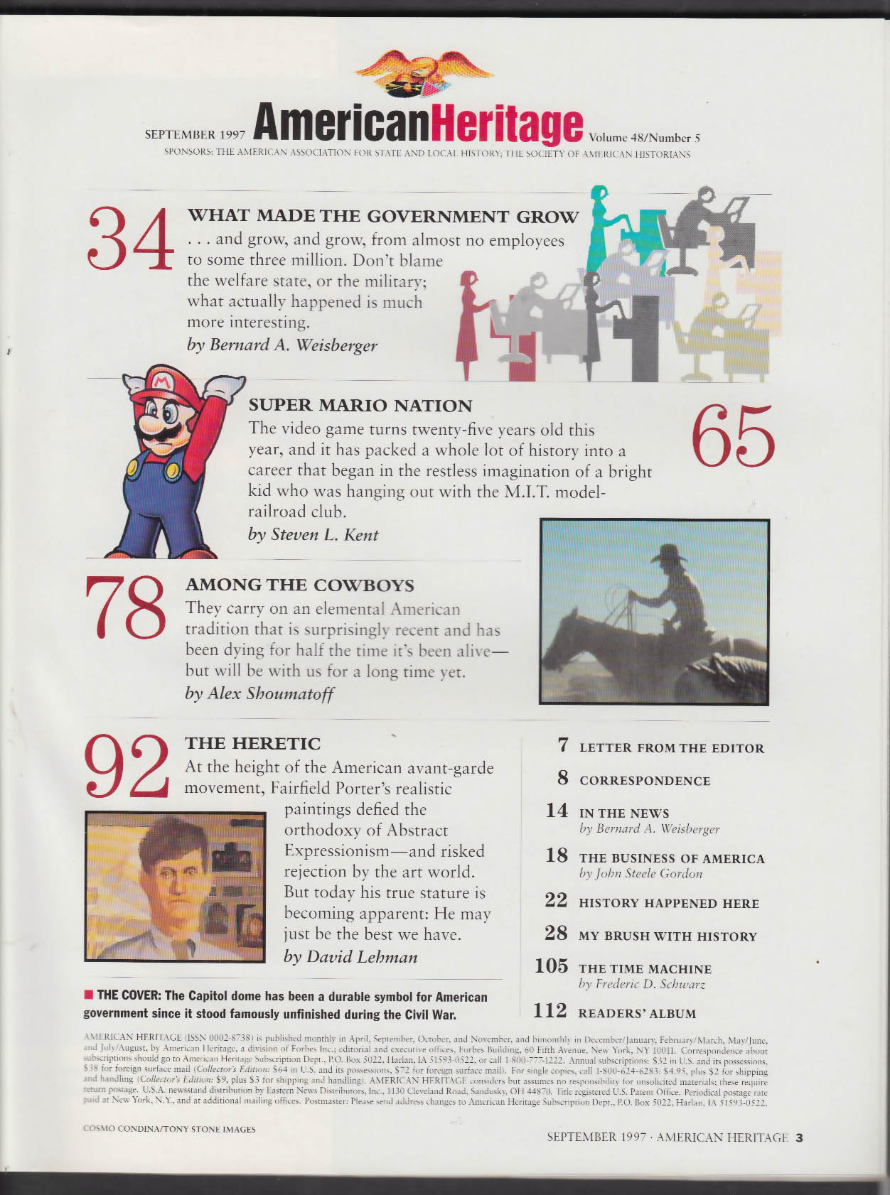 AMERICAN HERITAGE Video Games Fairfield Porter + 9 1997
