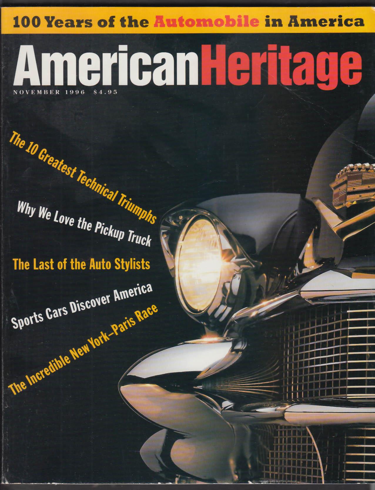AMERICAN HERITAGE Pierce-Arrow Bill Mitchell Car Culture + 11 1996