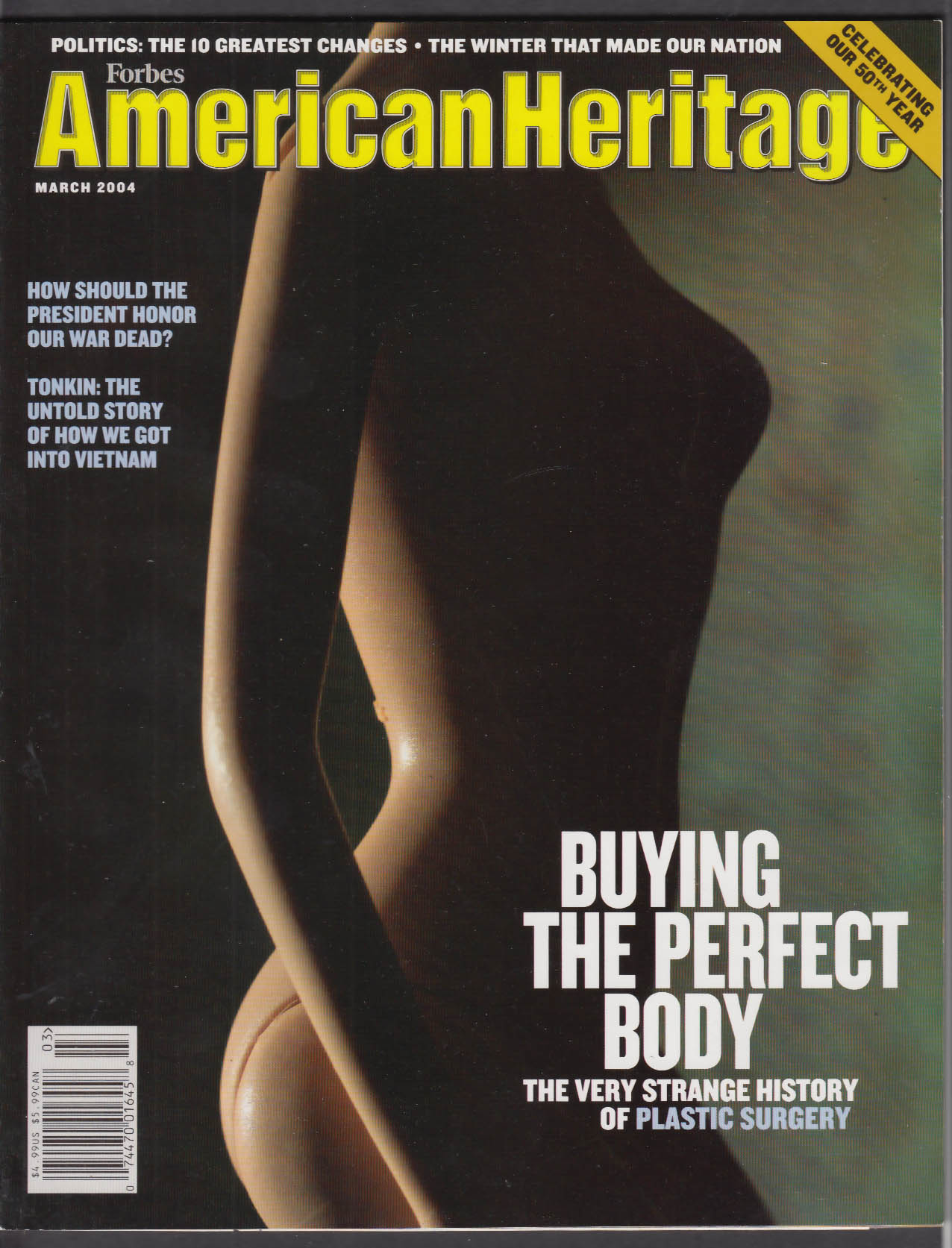 AMERICAN HERITAGE Cosmetic Surgery Gulf of Tonkin Vietnam + 3 2004
