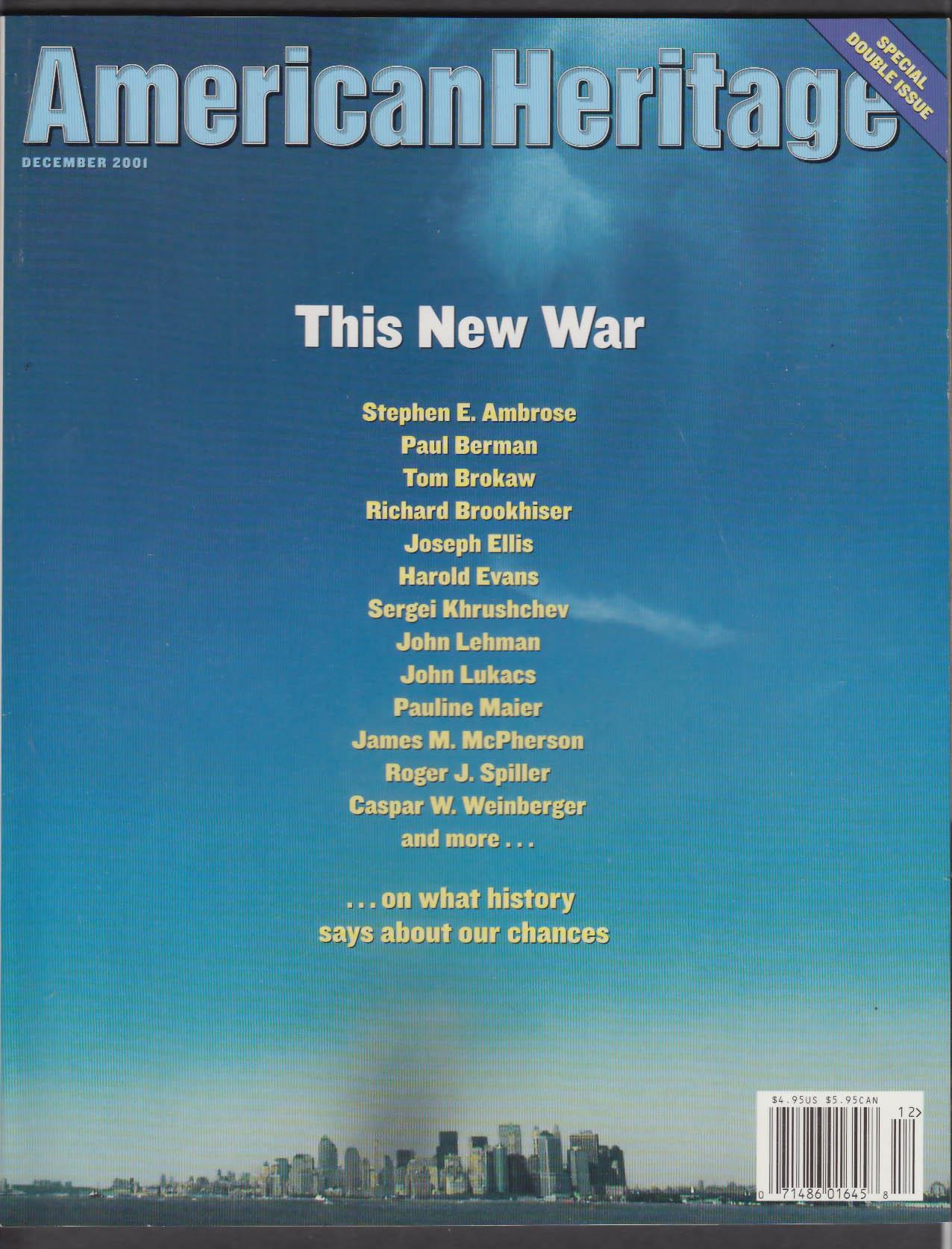 AMERICAN HERITAGE Stephen Ambrose Tom Brokaw Khrushchev 9/11 Terrorism + 12 2001