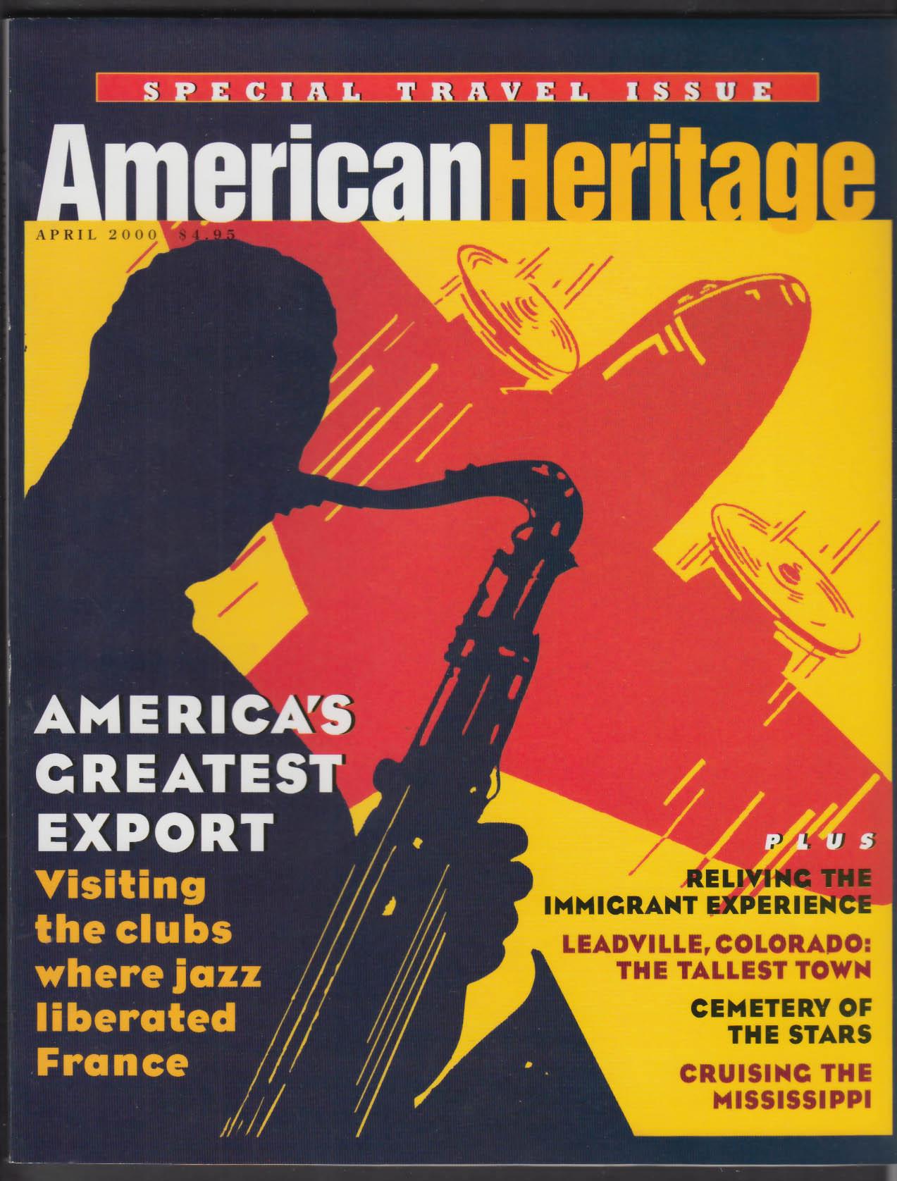 AMERICAN HERITAGE Jazz Tenement Museum Robert McCormick + 4 2000