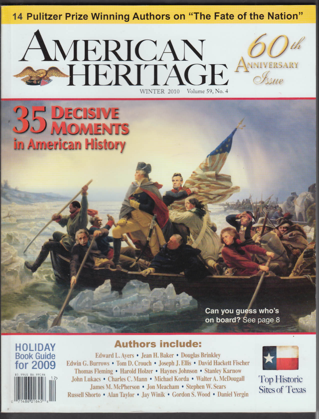 AMERICAN HERITAGE Special 60th Anniversary Issue Winter 2010