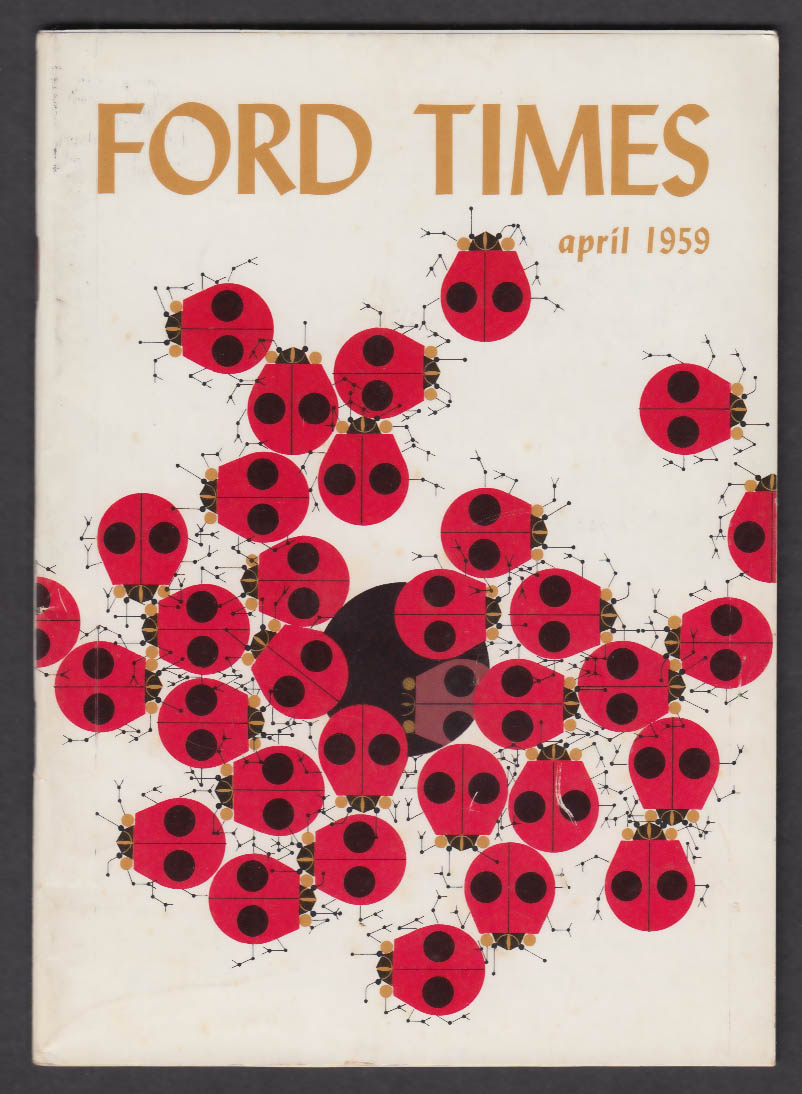 FORD TIMES Boston Science Museum Rhododendrons Tryon Palace Glen Canyon + 4 1959