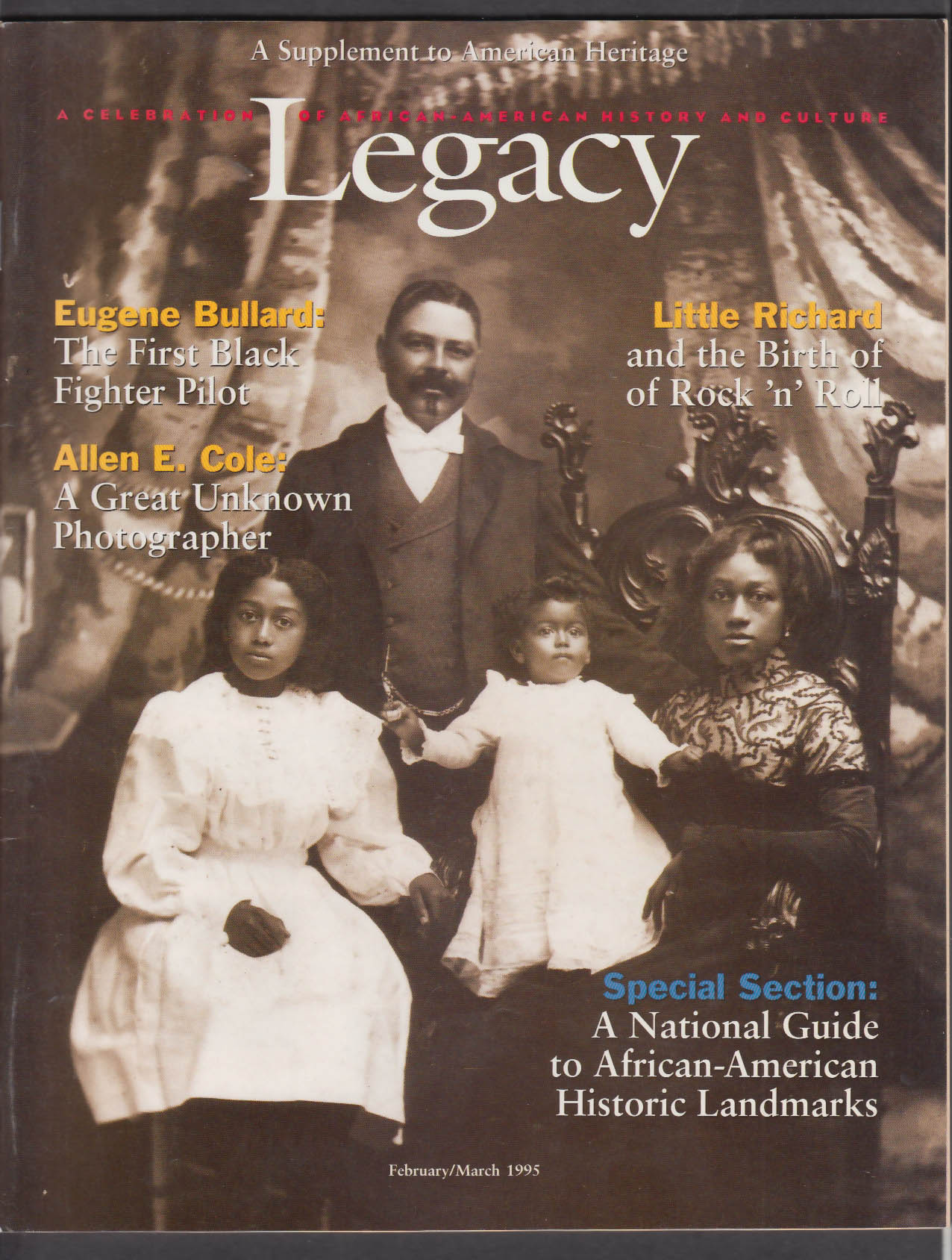 LEGACY American Heritage Supplement: African-American History 2-3 1995