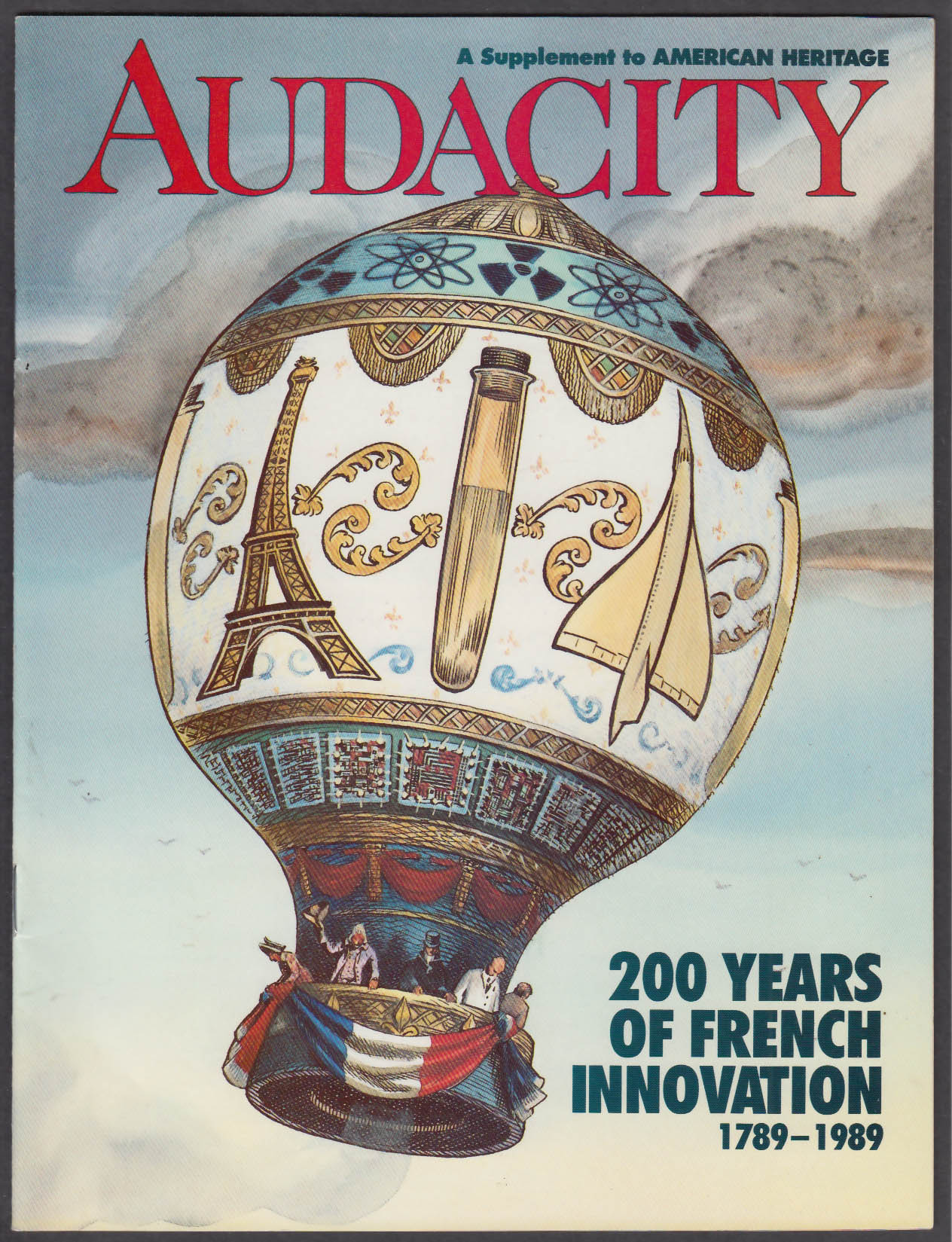 AUDACITY American Heritage Supplement: French Innovation 1789-1989