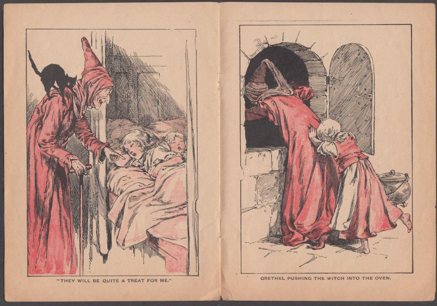 Hansel & Grethel storybook White Cat Series McLoughlin Bros 1901