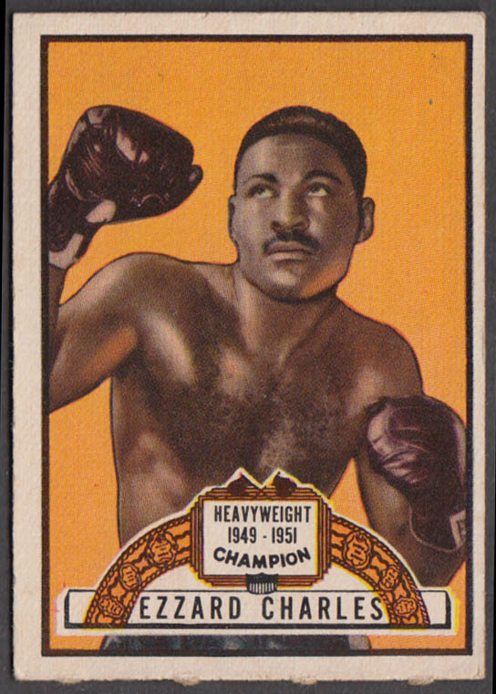 Heavyweight Champion Ezzard Charles 1949-1951 Topps Ringside card#96 1951