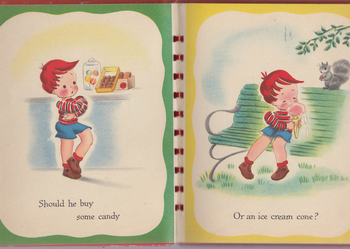 Image for Frieda Friedman: Bobbie Had a Nickel children's book 1946 pictures by Emmo