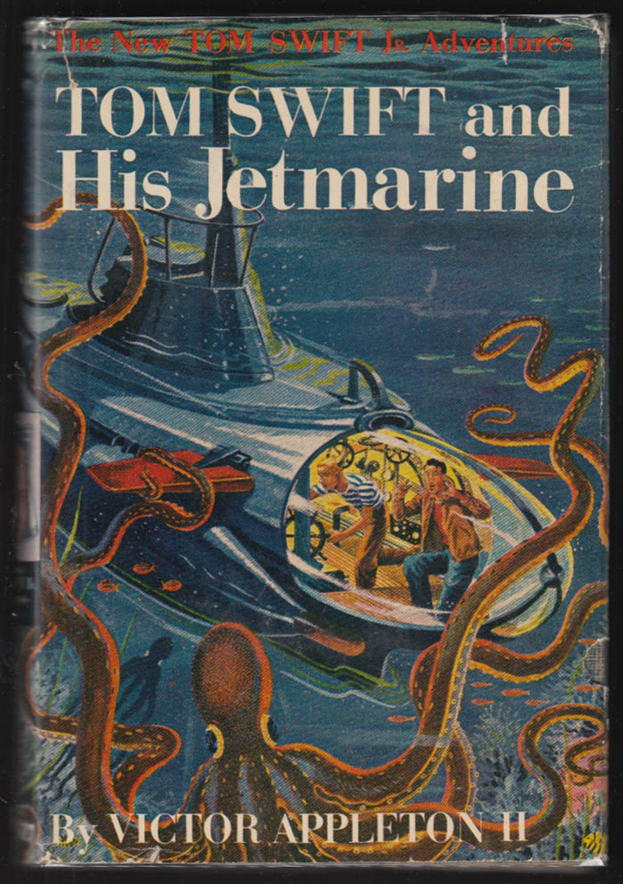 Image for Tom Swift & His Jetmarine 1954 hardbound in dustjacket