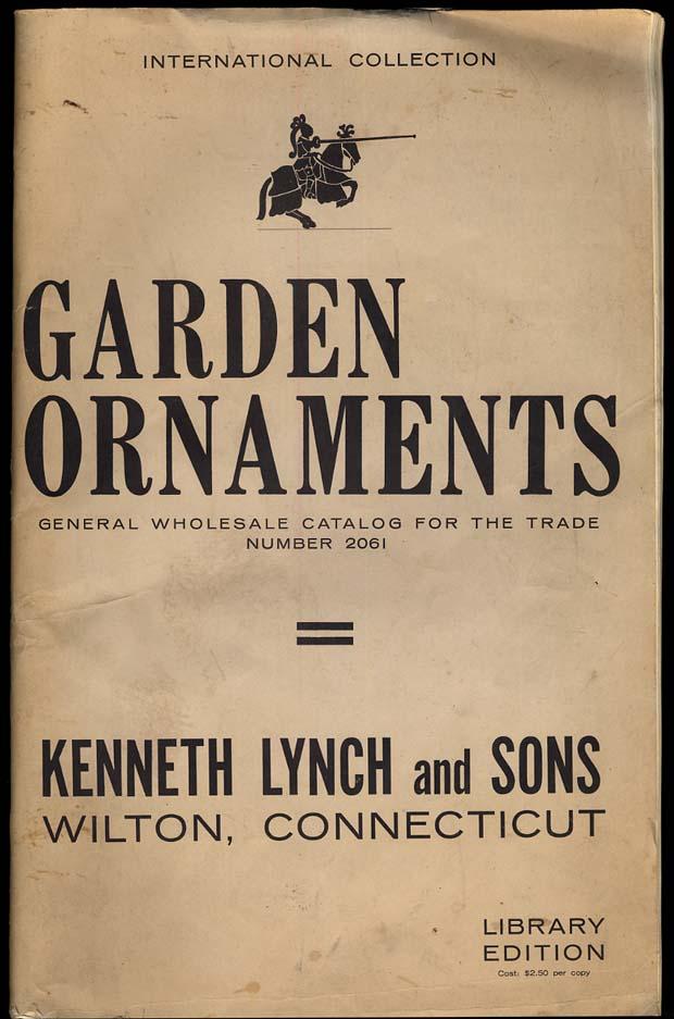 Kenneth Lynch & Sons Wilton CT Garden Ornaments Catalog 1961