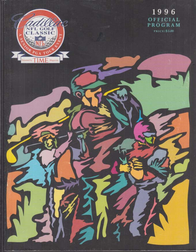 Cadillac NFL Golf Classic Program 1996 Arnie Elway Favre Boomer Chi Chi +