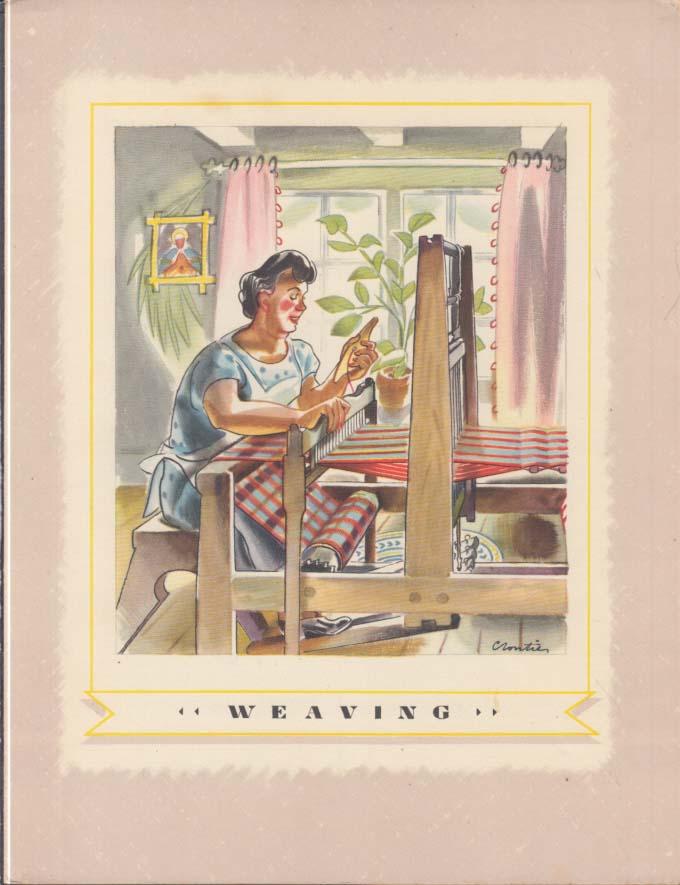 Canada Steamship Lines T S S Tassoudac Menu 1950s Weaving
