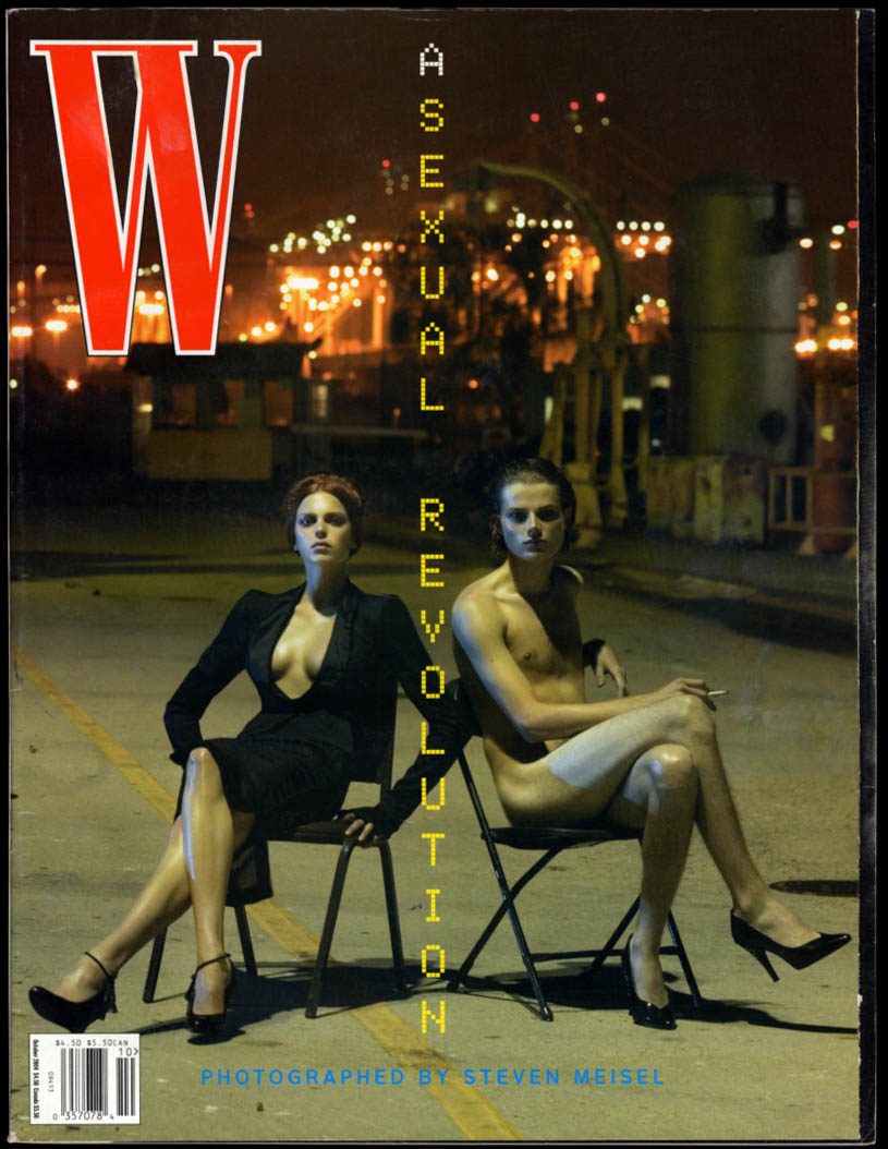 Image for W Magazine 10 2004 Asexual Revolution by Stephen Meisel, Alex Katz Capote-Beaton