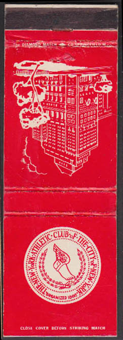 Image for The New York Athletic Club of the City of New York matchcover