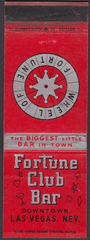 Image for Fortune Club Bar & Casino Las Vegas NV matchcover