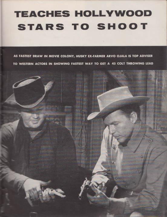 GUNS 7 1956 Marilyn Monroe Adolph Topperwein Arvo Ojala Randolph Scott