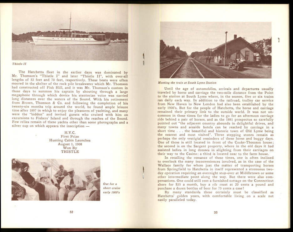 David C Sargent: Hatchett's Point Lyme CT monograph 1972