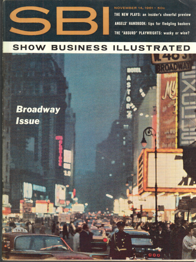 Image for SHOW BUSINESS ILLUSTRATED 11/14 1961 Judy Garland Fred Astaire Ethel Merman