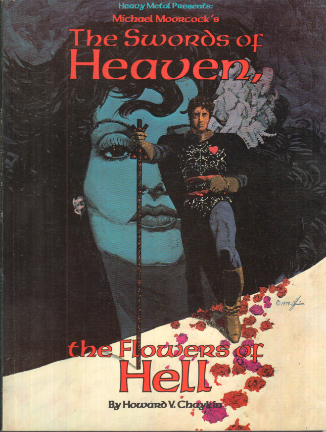 Image for Michael Moorcock's THE SWORDS OF HEAVEN: The Flowers of Hell 1st ed 1979