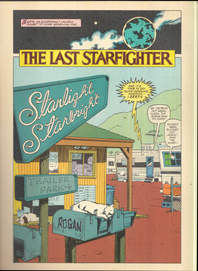 Image for Marvel Super Special #31 THE LAST STARFIGHTER 1st ed 1984