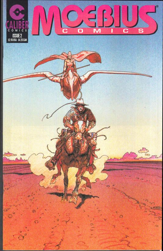 Image for MOEBIUS COMICS #2 July 1996 Caliber Comics