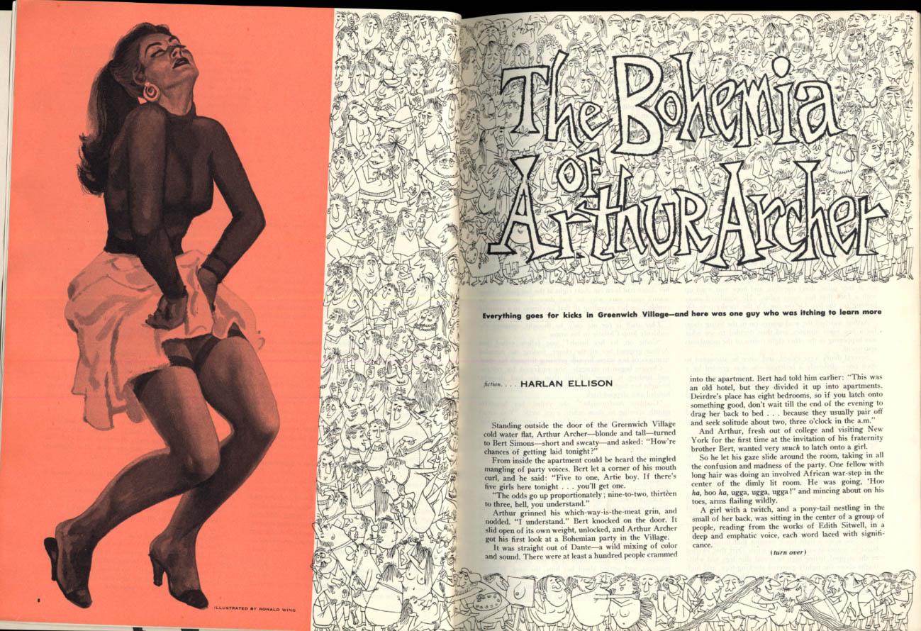 Image for THE DUDE 1 1957 Henry Miller Nelson Algren Harlan Ellison Bunny Yeager