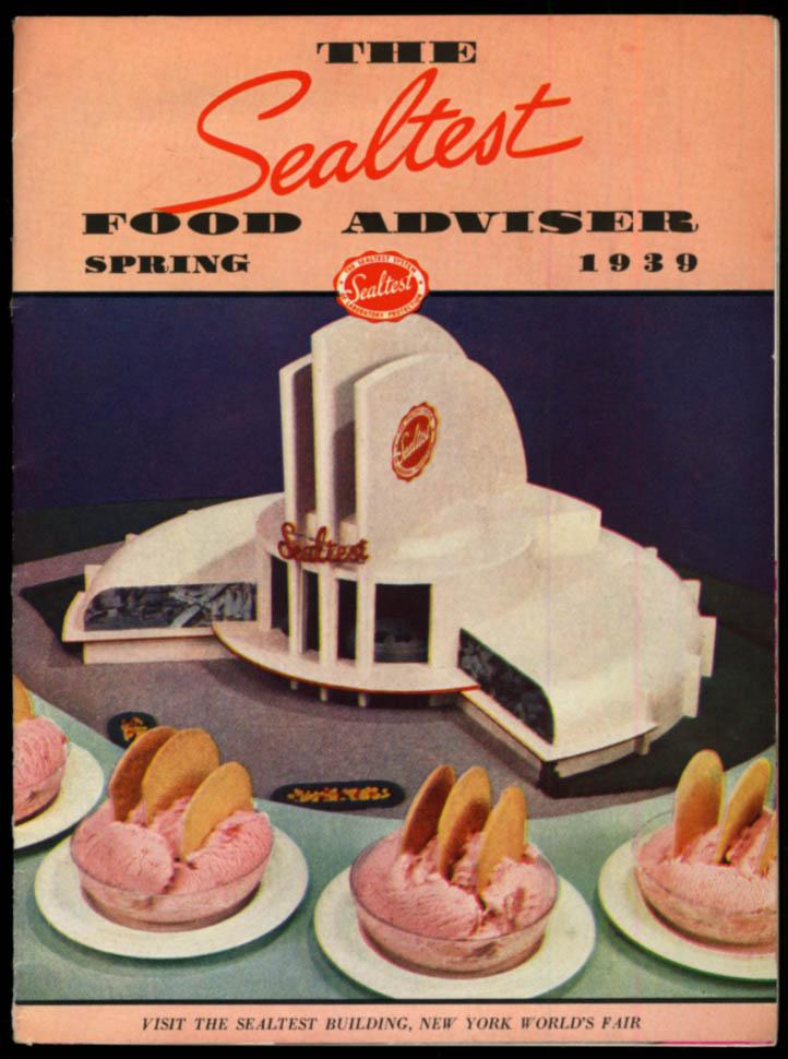 Image for The Sealtest Food Adviser New York World's Fair Issue Spring 1939