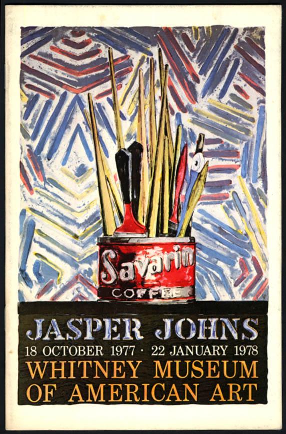 Jasper Johns at Whitney Museum of American Art catalog 1977-78