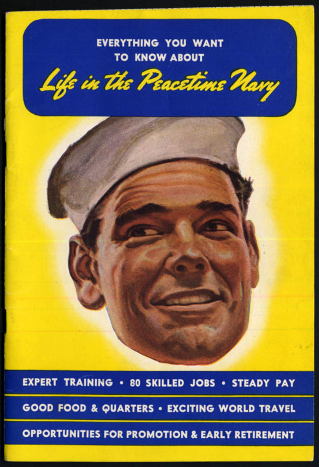 Everything You Need to Know About Life in the Peacetime Navy booklet 1945
