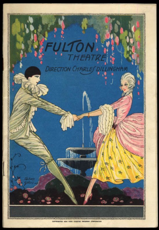 Fulton Theatre program Lonsdale's The High Rzoad with Herbert Marshall 1928