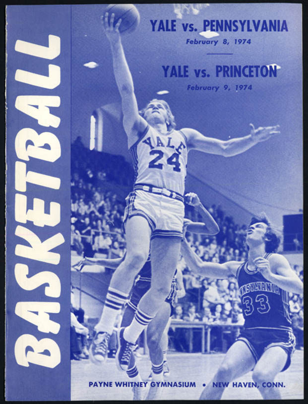 Image for Penn & Princeton vs Yale College Basketball Program 1974