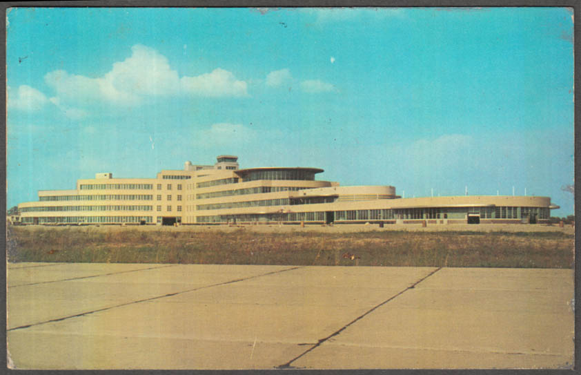Image for Greater Pittsburgh Municipal Airport postcard 1952