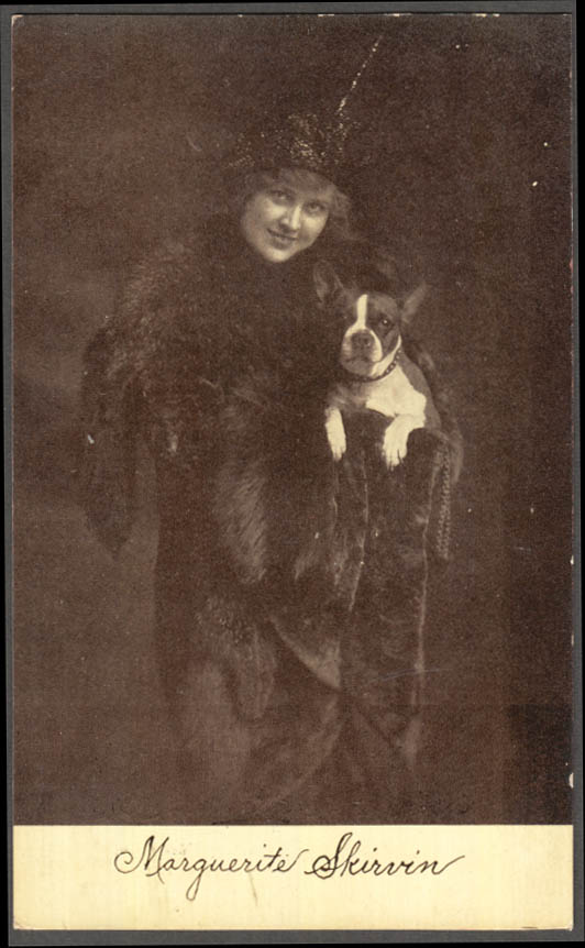 Image for Actress Marguerite Skirvin Lyceum Stock Co New Britain CT postcard 1910s