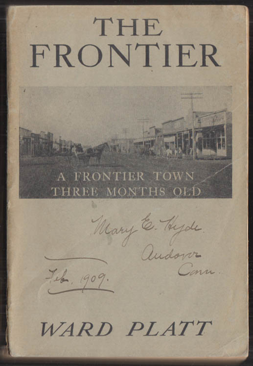 Image for Ward Platt: The Frontier 1st 1908 Young People's Missionary Movement USA w/ maps