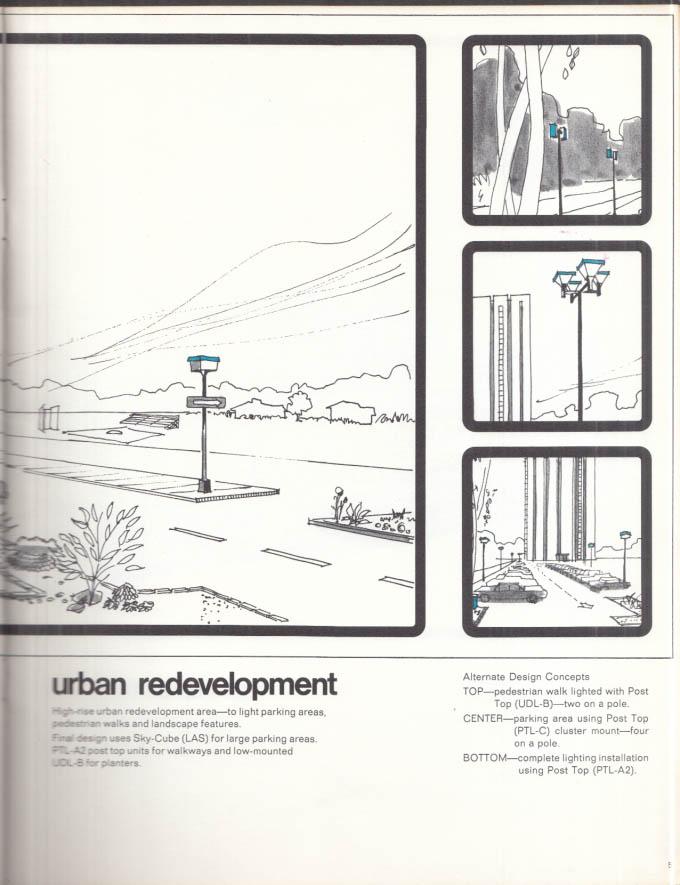 Crouse-Hinds Public Lighting Idea Book 1970s Syracuse NY