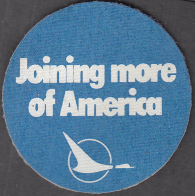 North Central Airlines Joining more of America cloth patch ca 1960s