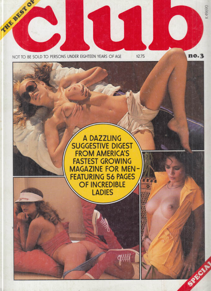 The Best of CLUB #3 nude model features 1977