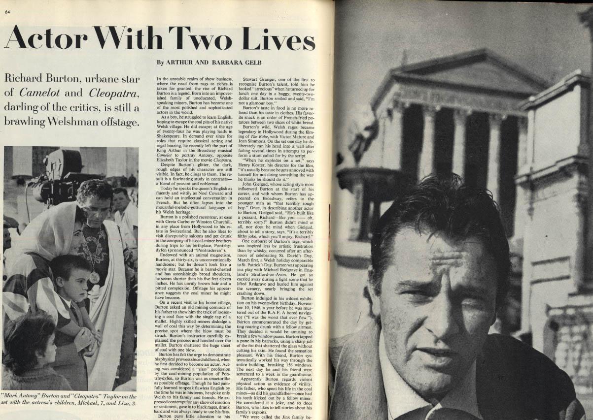 Image for SATURDAY EVENING POST 1/27 1962 Bob Feller; Richard Burton; housewife alcoholism