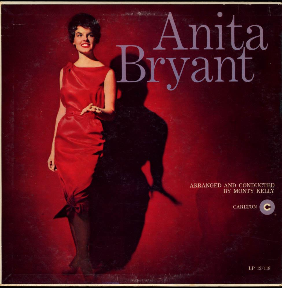 Anita Bryant Arranged & Conducted by Monty Kelly Carlton Mono LP 1959