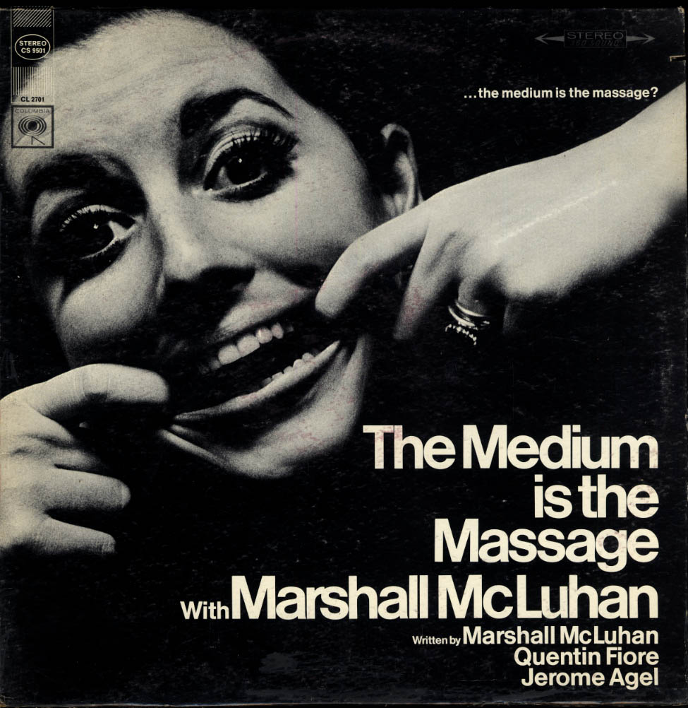 Image for Marshall McLuhan The Medium is the Massage Columbia Stereo LP 1967